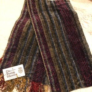 NWT The Dunlaps Weavers Chenille Scarf